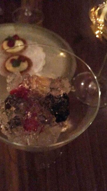 Champagne Jello // Mixed Berries